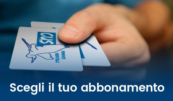 Banner scegli abbonamento Fitness Campus Novara