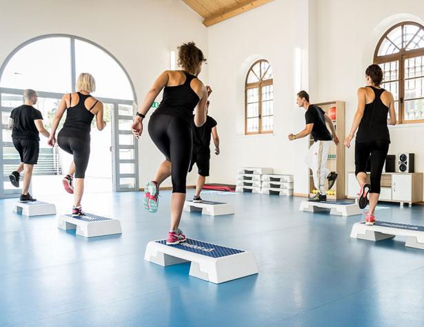 Corso di step palestra Fitness Campus Novara