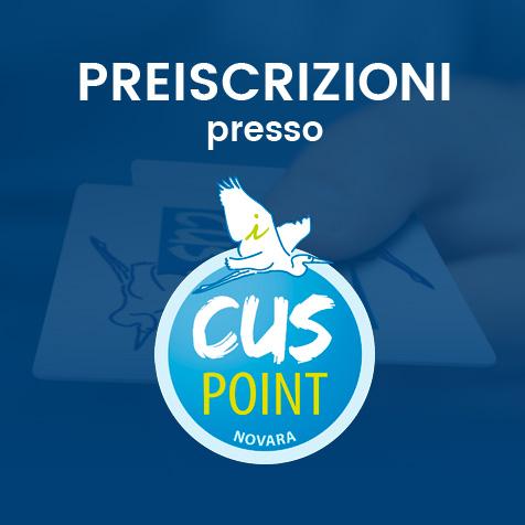 Preiscrizioni a Fitness Campus presso CUSPoint Novara in via Perrone 18