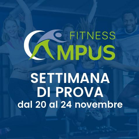 palestra fitness campus settimana di prova gratuita